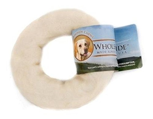 Wholesome Hide Donut For Dogs-4 ()