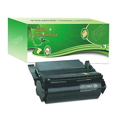 - ABCink Compatible Toner Cartridge Replacements for Lexmark 1382625,for use in Lexmark 4059,1200,1250,1650,2450,17600 Yields(1 Pack,Black)