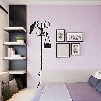 Pegatinas de pared de estilo dodoskinz Pi perchero Pared PVC ...