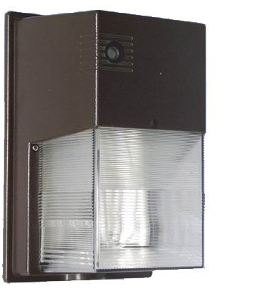 Westgate WM-103-AP421P  Wall Pack Outdoor Light, 1 - Compact Fluorescent PLT, 42W Bulb, 120V, 60 Hz with Photocell, Bronze