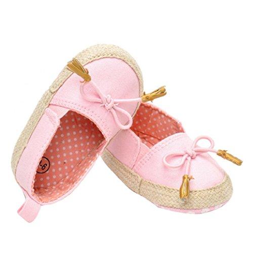 Clode® Bébés filles Princesse anti-dérapant du nouveau-né Chaussures bébé Souliers (3~6 mois, le style 1) (12~18 mois)