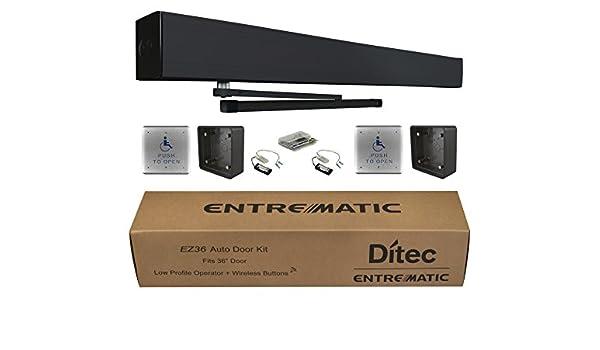 Amazon com: Ditec W9-235 EZ36 Auto Door Kit Low Energy