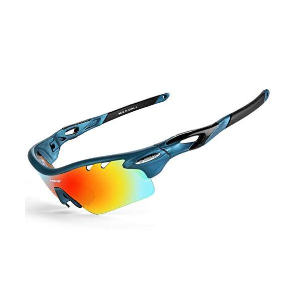 2329645129 INBIKE Gafas De Sol Polarizadas para Ciclismo con 5 Lentes ...