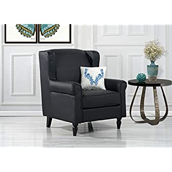 Amazon Com Divano Roma Furniture Classic Tufted Faux