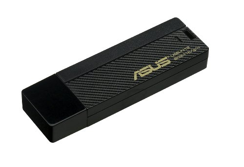 ASUS (USB-N13) Wireless-N USB Adapter IEEE 802.11b/g/n USB 2.0 Up to 300Mbps Wireless Data Rates