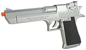 Evike Desert Eagle Licensed Magnum 44 Airsoft Pistol - Silver - (24243)