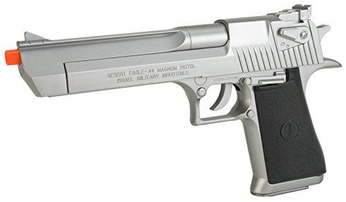 Evike Desert Eagle Licensed Magnum 44 Airsoft Pistol - Silver - (24243) ()