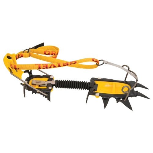 Grivel G12 crampon Cramp-O-Matic yellow/grey