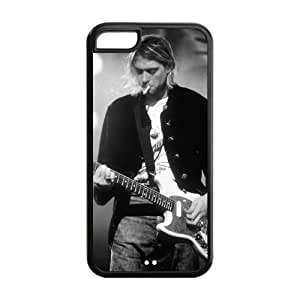 Kurt Cobain ipod touch4 Cover, Nirvana ipod touch4 Silicone Case