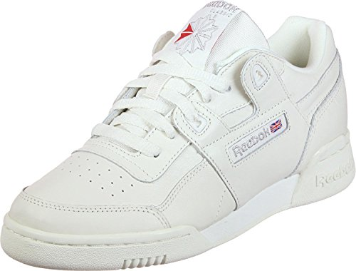 Reebok Pelle CN4112 Sneaker chalk in Workout met silver Plus fTwRxrfq