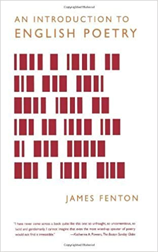 An Introduction to English Poetry by James Fenton (2004-04-01)