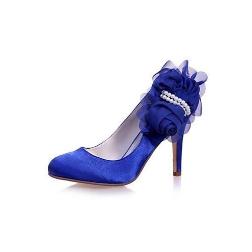 1db6fb164a 30% de descuento El mejor regalo para mujer y madre Mujer Zapatos Satén  Primavera Verano Pump Básico ...