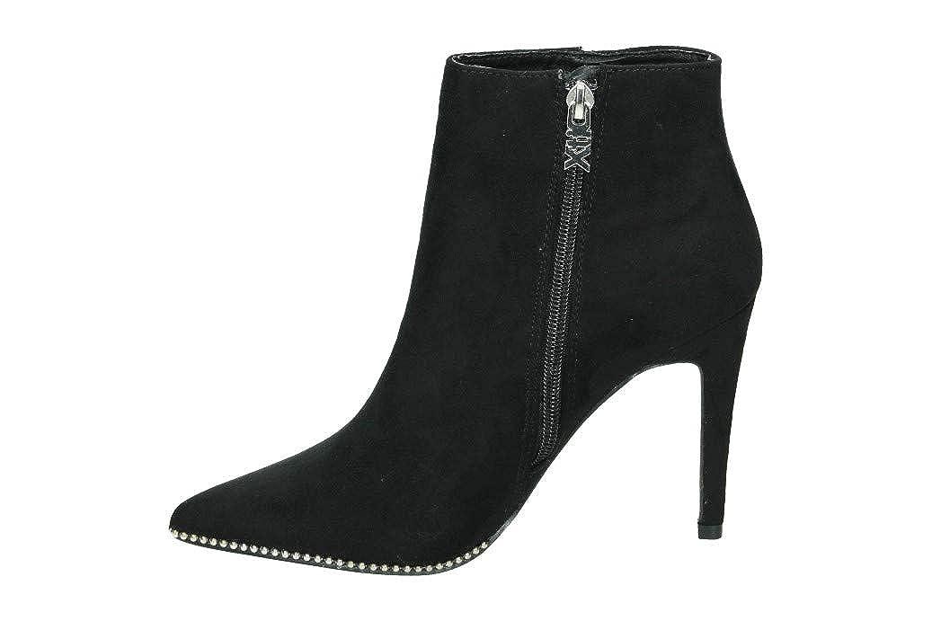 XTI Damen Kurzschaft 30952 Kurzschaft Damen Stiefel Schwarz 587560