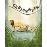 Personalized with Name 8x10 Lion King Jungle Safari Animal Children's Nursery Wall Art Decor Room Print