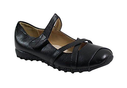 Noir Mujer para Merceditas By Shoes waq7nH0