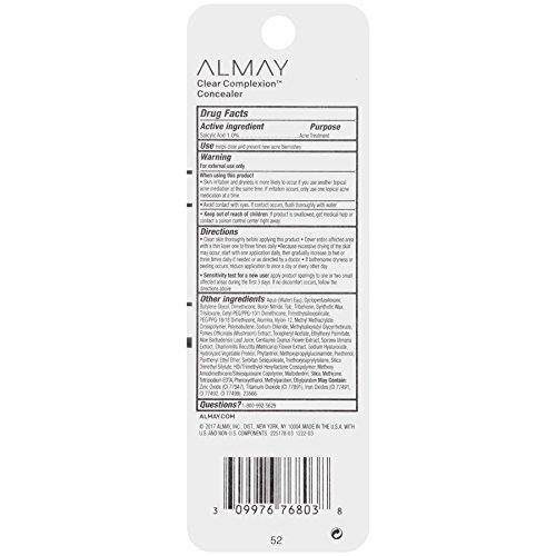 Almay Clear Complexion Concealer, Medium