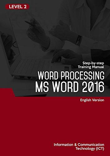 Amazon com: MICROSOFT WORD 2016 (WORD PROCESSING) LEVEL 2