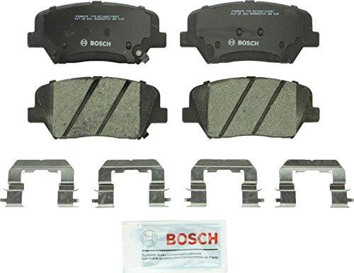 Bosch BC1432 QuietCast Premium Ceramic Disc Brake Pad Set For: Hyundai Azera, Santa Fe; Kia Sorento, Front