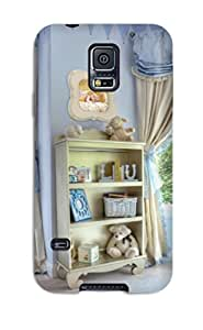 Hard Plastic Galaxy S5 Case Back Cover,hot Baby Boy Nursery Bookcase Case At Perfect Diy