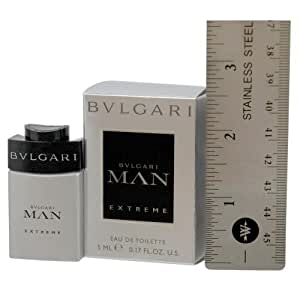 BVLGARI DLX Man Mini Extreme Cologne, 0.17 Ounce