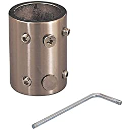 Minka Aire DR500-22, Minka Aire Downrod Coupler, Polished Brass
