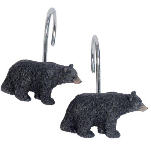 resin bear bathroom set - 2