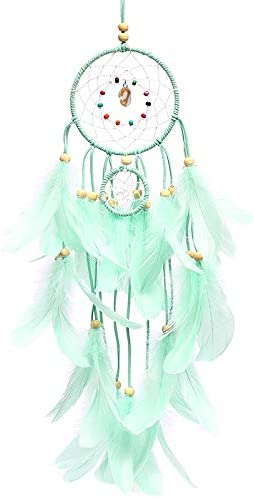 KUOZEN Attrape Reve Catches Indian Dream Vent Carillons Dream Catcher Dream Catcher pour Amis Romantique R/êve Catcher Cadeau danniversaire Dream Catcher Green