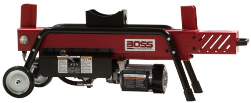 Boss Industrial ED8T20 Electric Log Splitter, 8-Ton by Boss Industrial