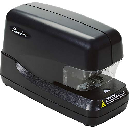 Swingline Hi-Capacity Electric Cartridge Stapler-Electric Cartridge Stapler, 5000 Staple Cap, 70 Sht,Black