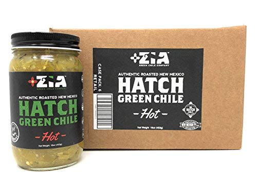 (Original New Mexico Hatch Green Chile By Zia Green Chile Company - Delicious Flame-Roasted, Peeled & Diced Southwestern Certified Green Peppers For Salsas, Stews & More, Vegan & Gluten-Free - 6 Pack)