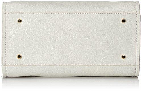 Cavalli Leogram 007 - Bolso estilo bolera de Material Sintético para mujer 14x19x27,50 cm (B x H x T), color Marfil (Offwhite)