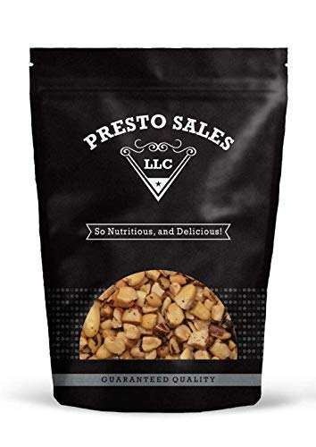 Brazil nuts Broken, Roasted Unsalted (5 lbs.) by Presto Sales LLC by Presto Sales