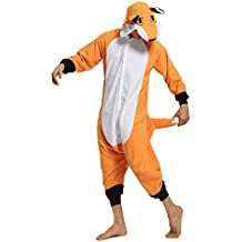 KING Fun Adult Animal Cosplay Costumes Fox Unisex Pajamas Lounge Wear A9