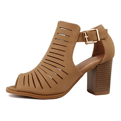 Pictures of Guilty Heart | Womens Strappy Cut Out Perforated 1