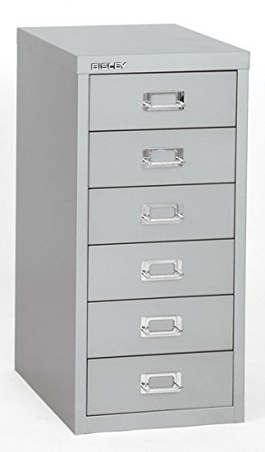 Amazon.com : Bisley 6 Drawer Steel Multidrawer Storage Cabinet ...