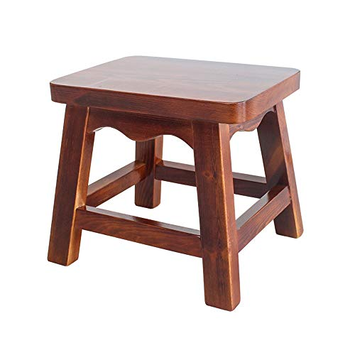 Stool - Shoe Bench, Living Room Solid Wood Sofa Bench, Household Coffee Table Stool/Small Square Stool by StoolStool (Image #4)