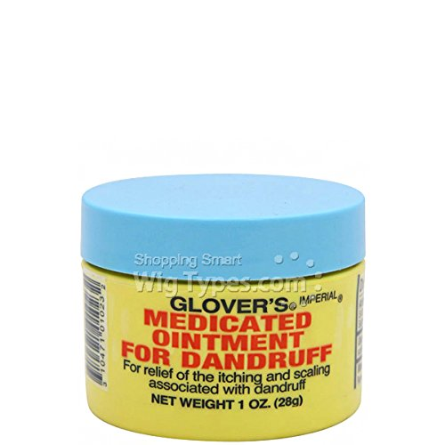 GLOVER'S MEDICATED OINTMENT FOR DANDRUFF 1OZ - Glovers Medicated Ointment