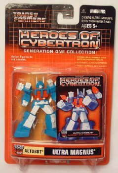 (Transformers Heroes of Cybertron G1 Collection Ultra Magnus Figure )