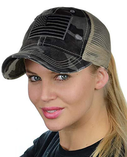 Best high ponytail hats for women camo for 2020