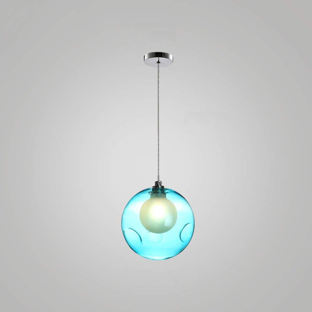 C Kreativ - Ice Kristallglas Kronleuchter Kronleuchter trailer LED-Leuchten, Zyklus (c) Farbe