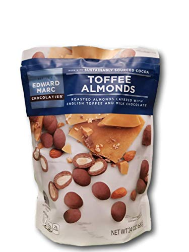 chocolate almond toffee - 4