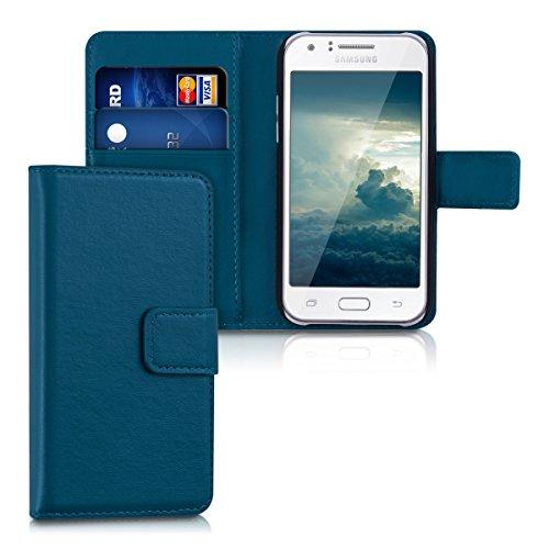 Slim Shockproof Case for Samsung Galaxy J1 (Dark Blue) - 8