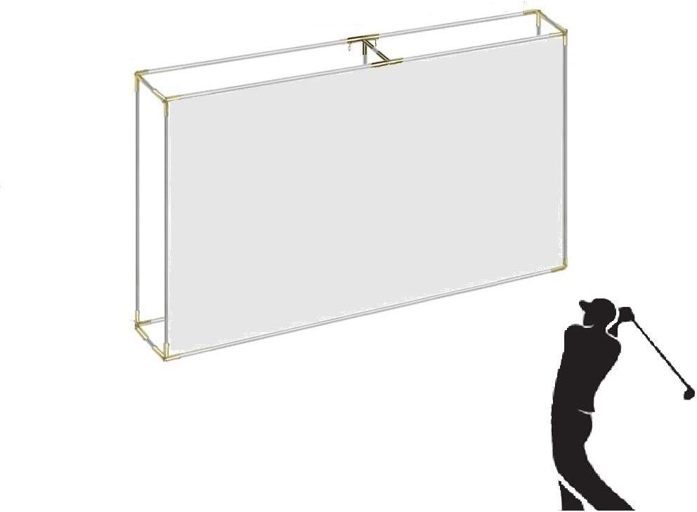 Flat Self-Standing Indoor/Outdoor Golf Frame Corners 1