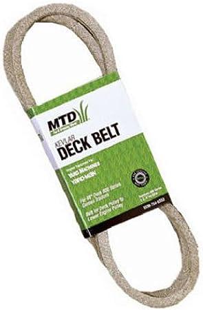 Amazon.com: MTD Genuine Parts Deck – Cinturón 46-pulgadas ...