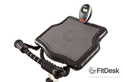 FitDesk Desk Exercise Bike with Massage Bar from Revo Innovations