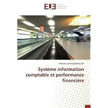 Système information comptable et performance financière
