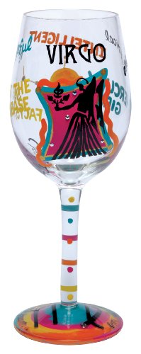Lolita Love My Sign, Virgo Wine Glass