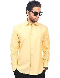 Amazon.com: Yellow - Dress Shirts / Shirts: Clothing, Shoes & Jewelry