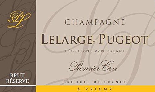 Veuve Clicquot Brut Wine (NV Champagne Lelarge Pugeot Brut Reserve 750)