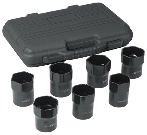 OTC 4542 Stinger Wheel Bearing Locknut Socket Set - 7 Piece ()